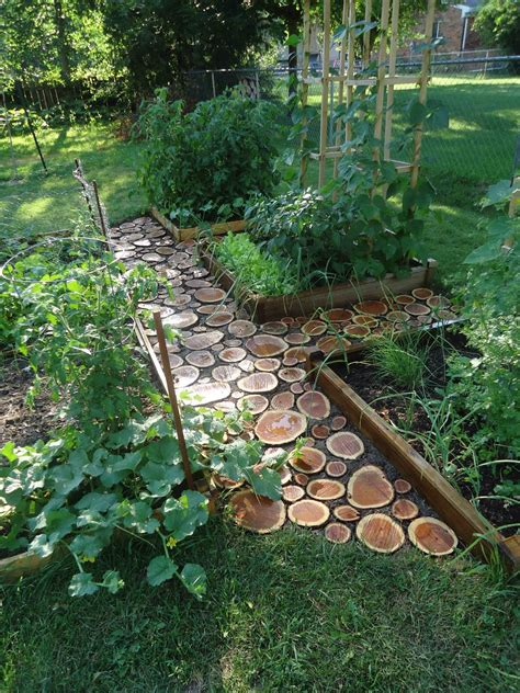 backyard path domesticated nomad garden path