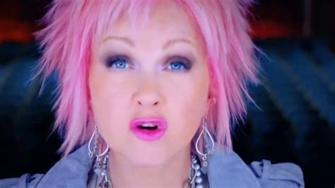 short hair in tv commercials cyndi lauper on tv commercial in usa 8 8 17 youtube