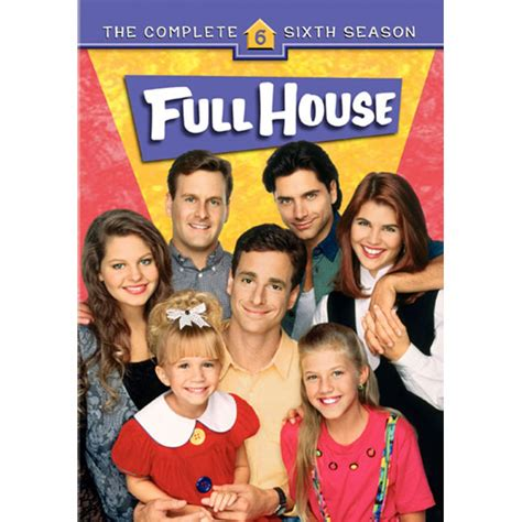 season 6 house full house the complete sixth season dvd
