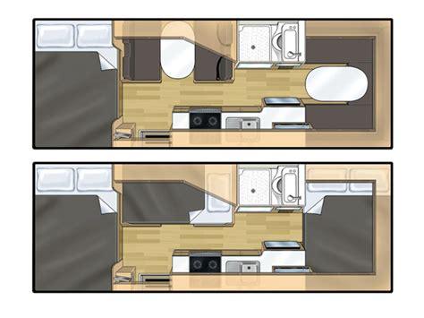 Nz Kitchen Design campervan rental 6 berth new zealand