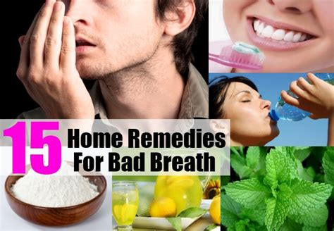 15 home remedies for bad breath treatments