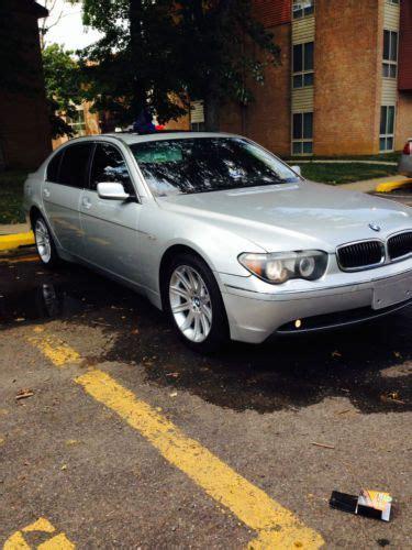 2005 bmw 745li for sale purchase used 2005 bmw 745li base sedan 4 door 4 4l in