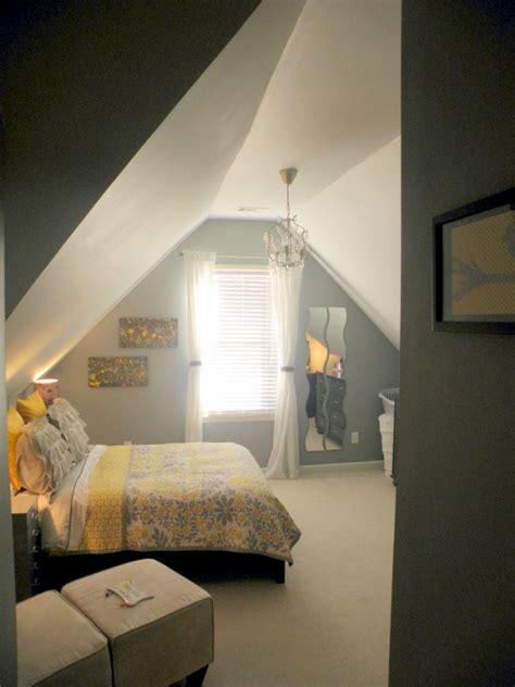 design rooms   sloping roof interior design ideas