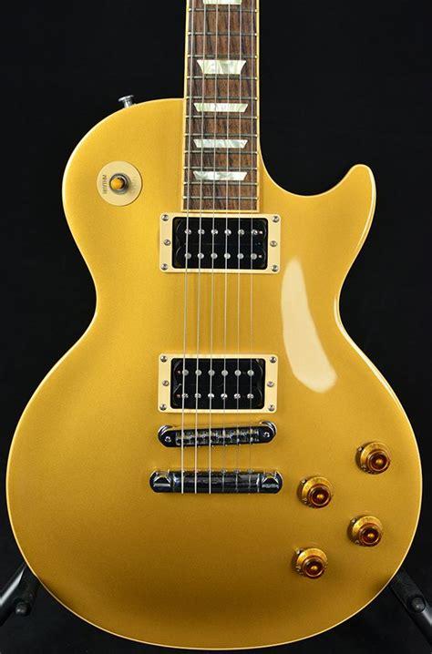 Miniatur Gitar Gibson Les Paul Gold Slash gibson 2008 usa slash les paul gold top pre owned ebay