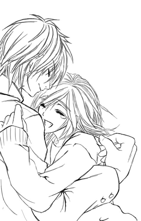 cute cuple hug and kissing sketch pics couple sketch by cantrona on deviantart