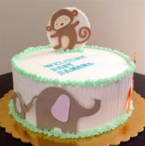 baby shower cakes animals quotes for baby cakes quotesgram