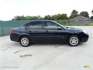 blue metallic 2006 chevrolet malibu ls sedan exterior