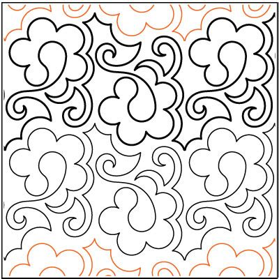 Pantograph Quilt Patterns by Pantographs Patterns For Longarm Quilting Quilt Pattern
