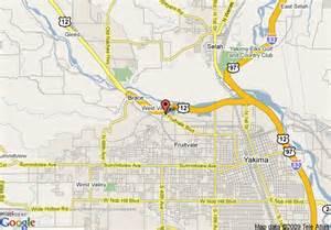 map usa yakima map of comfort suites yakima yakima