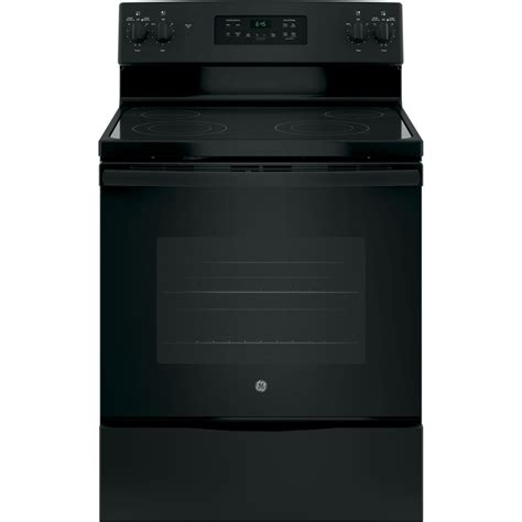 Ceramic Cooktop Cleaning Shop Ge Smooth Surface Freestanding 4 5 3 Cu Ft Self
