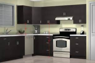 Height Of Kitchen Cabinet What Is The Optimal Kitchen Wall Cabinet Height