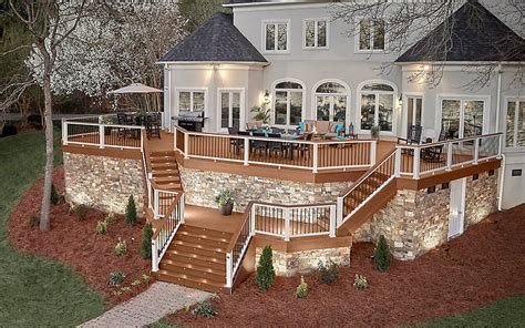 Low Cost House Plans With Estimate by Trex Enhance 174 Composite Decks And Decking Materials Trex