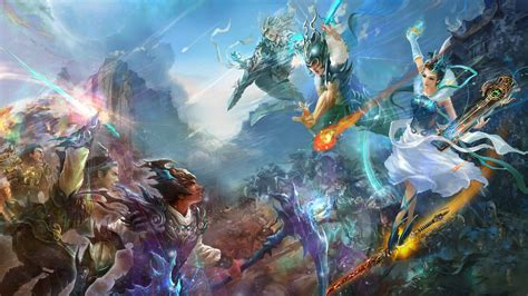 wallpaper game fantasy 1920x1080 warriors mmorpg perfect world fantasy jade