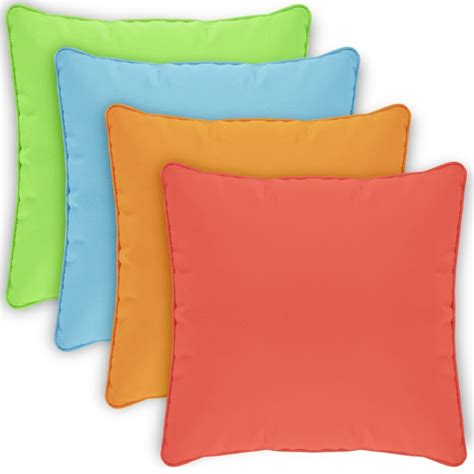 Zip Pillow Covers by Pillow Cover Square Zippered Welted 24x24 Solids Cpc24p