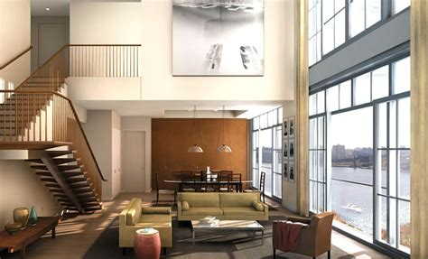 luxury and modern residential interior design of 200 eleventh avenue downtown manhattan nyc