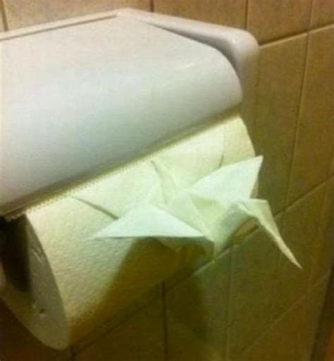 Toilet Paper Origami Book - toilet paper origami jpegy what the was meant for