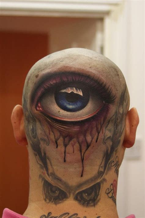 eyeball tattoo on back of head fox network launching new tv series that glorifies lucifer