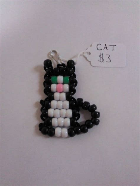 bead animal keychains crafts