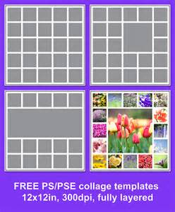 free photoshop templates free photo collage template your pics
