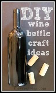 Home wine bottle crafts diy tools wine bottle candle