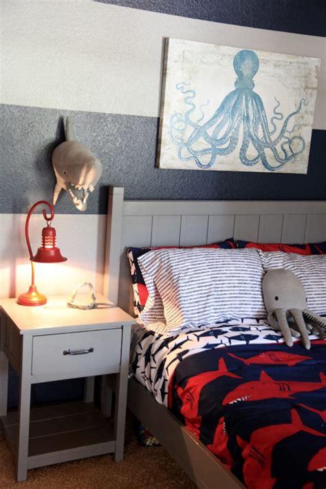 shark bedroom theme shark themed boy s room project nursery