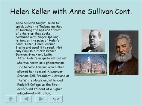biography of helen keller in english helen keller