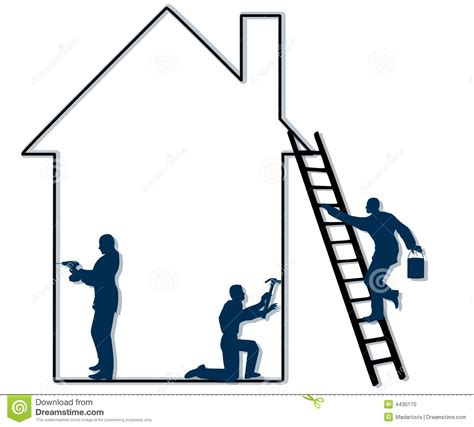 home repair contractors stock photo image 4435170