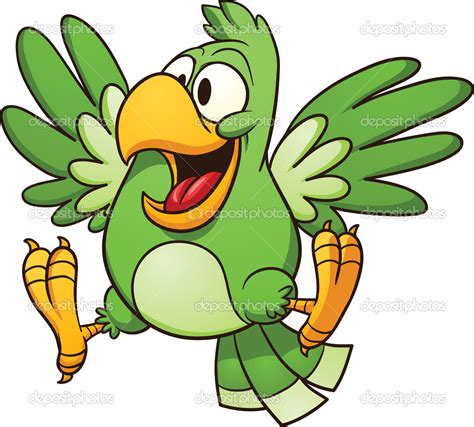 cartoon cockatiel pirate parrot cartoon png