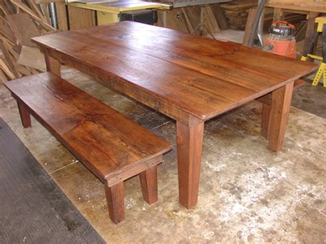 country kitchen tables with benches primitive folks sperry folk danette sperry