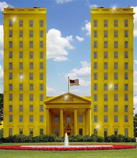 trumps gold house photoshop battle predicts trump s white house decor