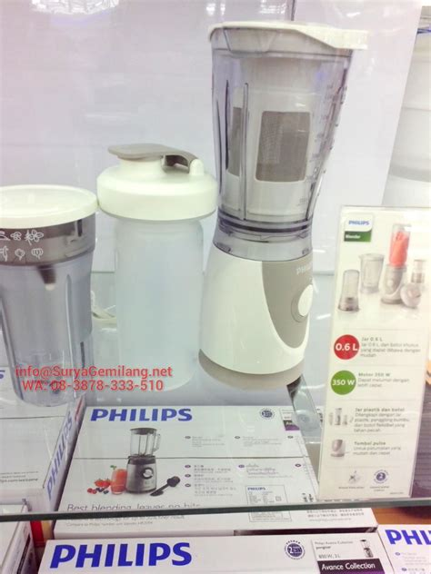 Blender Philips Asli jual blender philips 4in1 hr2874 bonus filter asli baru