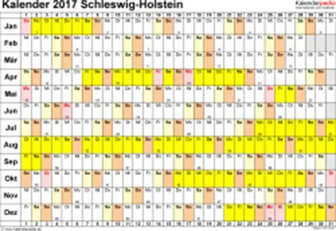 Kalender 2018 Sh Kalender 2017 Schleswig Holstein Ferien Feiertage Pdf