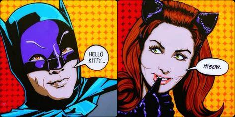 pop artists 1960 1960s batman television series pop batman cat