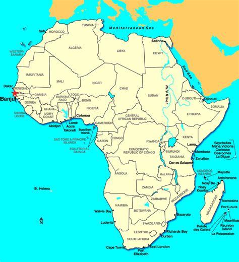 africa map gambia banjul gambia discount cruises last minute cruises