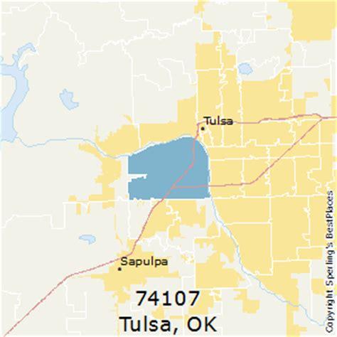 tulsa zip code map best places to live in tulsa zip 74107 oklahoma
