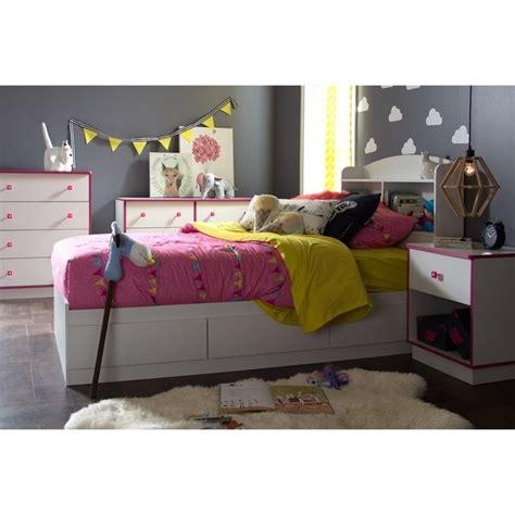 shore bedroom set south shore logik 4 wood bedroom set in white and pink 9039027 34 62 10055 56 pkg