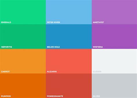 flat ui colors autumn edition flat design colors 28 images flat ui colors don t do s
