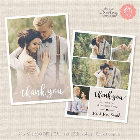 thank you card template 81 2 x 11 danksagung hochzeit klappkarte die besten momente der