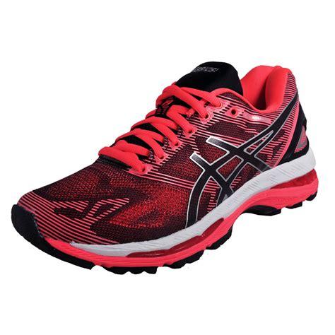 Asics Gel Nimbus 2 Premium Hq asics gel nimbus 19 womens premium running shoes black pink new 2017 ebay