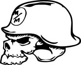 metal mulisha skull decal sticker 02