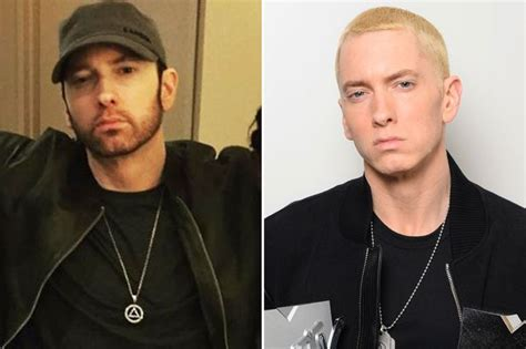 eminem beard slim s new shade eminem is almost unrecognisable as he