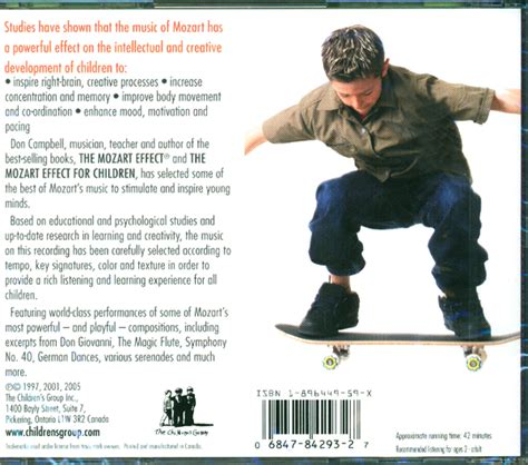 Cd The Mozart Effect For Children Vol3 the mozart effect for children vol 3 cd