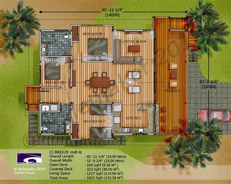 exotic house plans ci breeze design wood home pinterest breeze