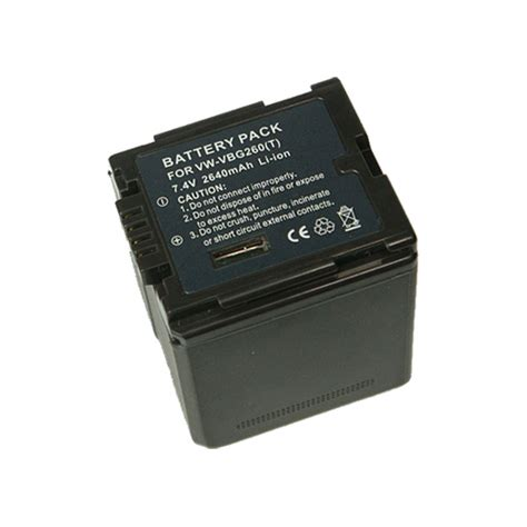 Battery Panasonic Vbg 260 panasonic vbg260 battery experts