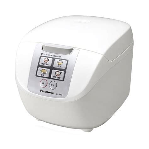Daftar Rice Cooker Panasonic jual panasonic sr df181wsr rice cooker harga kualitas terjamin blibli