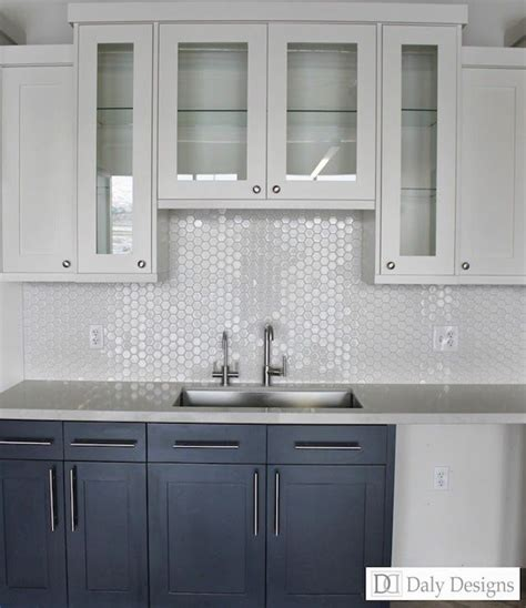 kitchen sink with backsplash options for a kitchen design with no window over the sink