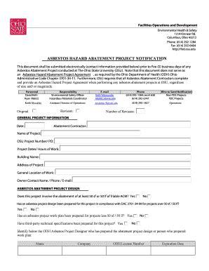 Printable Project Initiation Document Template Edit Asbestos Abatement Plan Template