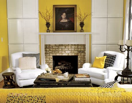 Yellow Living Room Decor 50 Bright And Colorful Room Design Ideas Digsdigs