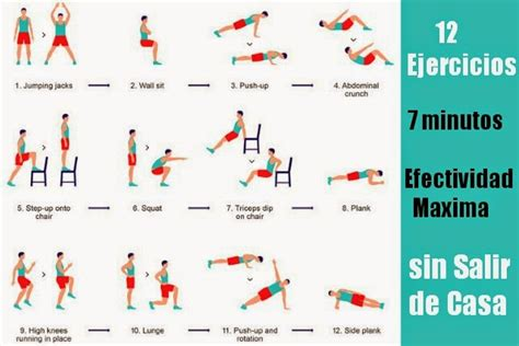 hacer gimnasia en casa mantenernos en forma y en casa con 12 ejercicios
