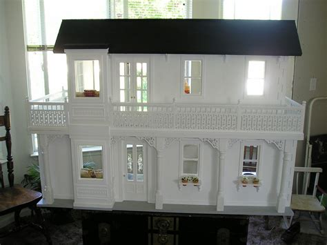 Handcrafted Doll Houses - handmade wood doll house another doll